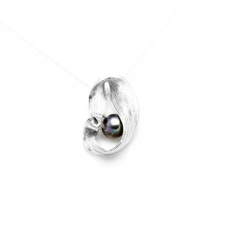 Colgante Jû Roku perla color