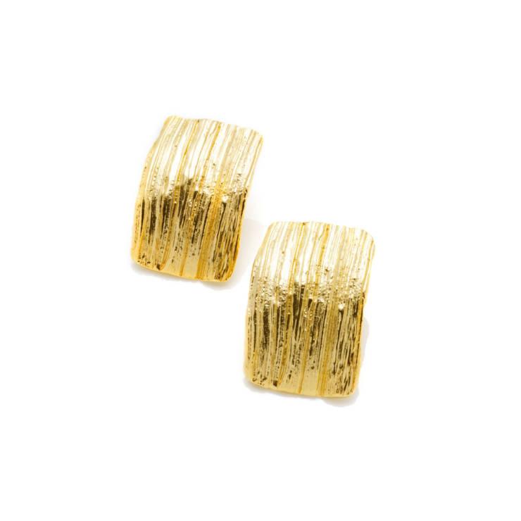 Pendientes Roku Baño de Oro