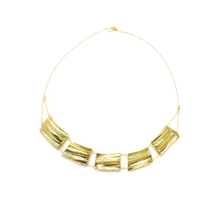 Collar Ni Jiû Baño de Oro